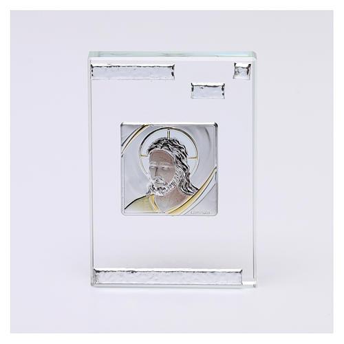 Bomboniera icona Cristo 10x5 cm 1
