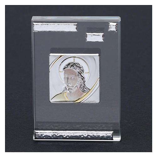 Bomboniera icona Cristo 10x5 cm 2