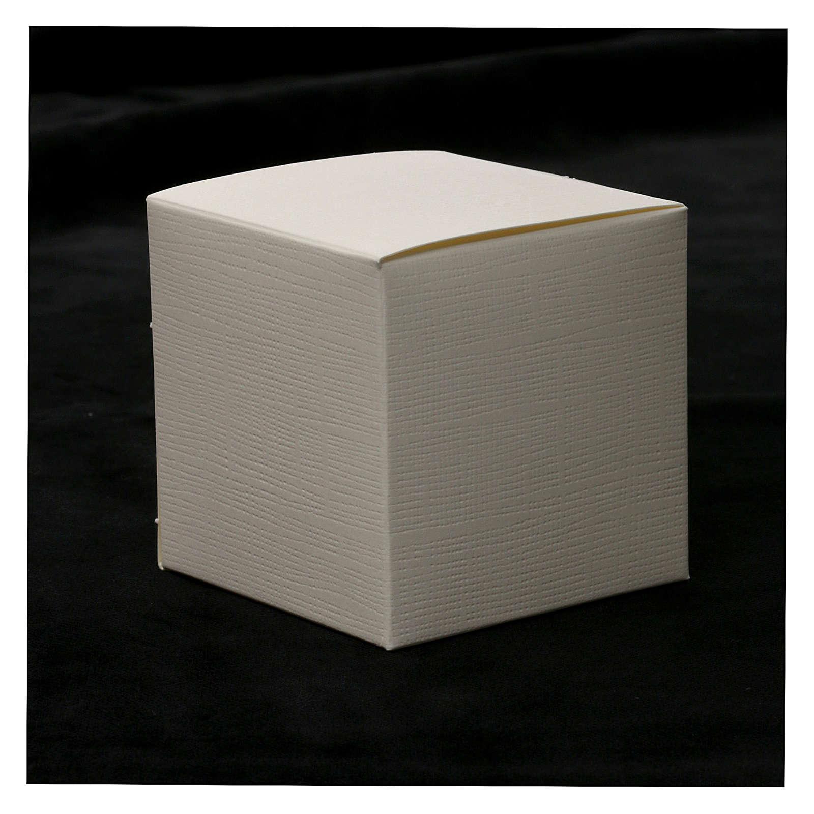 Bomboniera Prima Comunione con simboli 10x5 cm 3