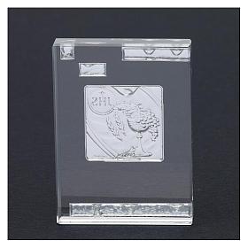 Bomboniera Prima Comunione con simboli 10x5 cm s3