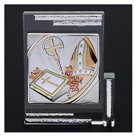 Idea regalo per la Cresima cristallo 10x10 cm s2
