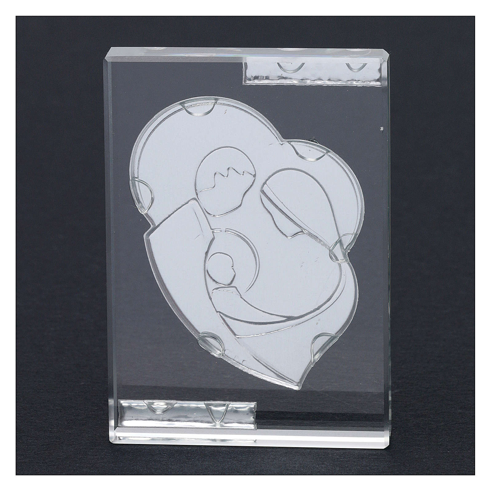 Bomboniera Sacra Famiglia stilizzata quadretto 10x5 cm 3