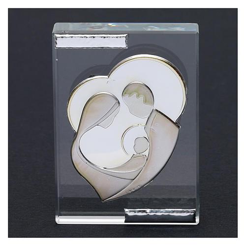 Bomboniera Sacra Famiglia stilizzata quadretto 10x5 cm 2