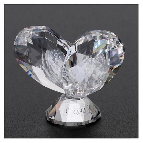 Bonbonnière Communion coeur 5x5 cm 3