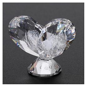 Bomboniera Comunione cuore 5x5 cm s3