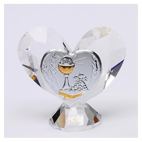 Bomboniera Comunione cuore 5x5 cm 1