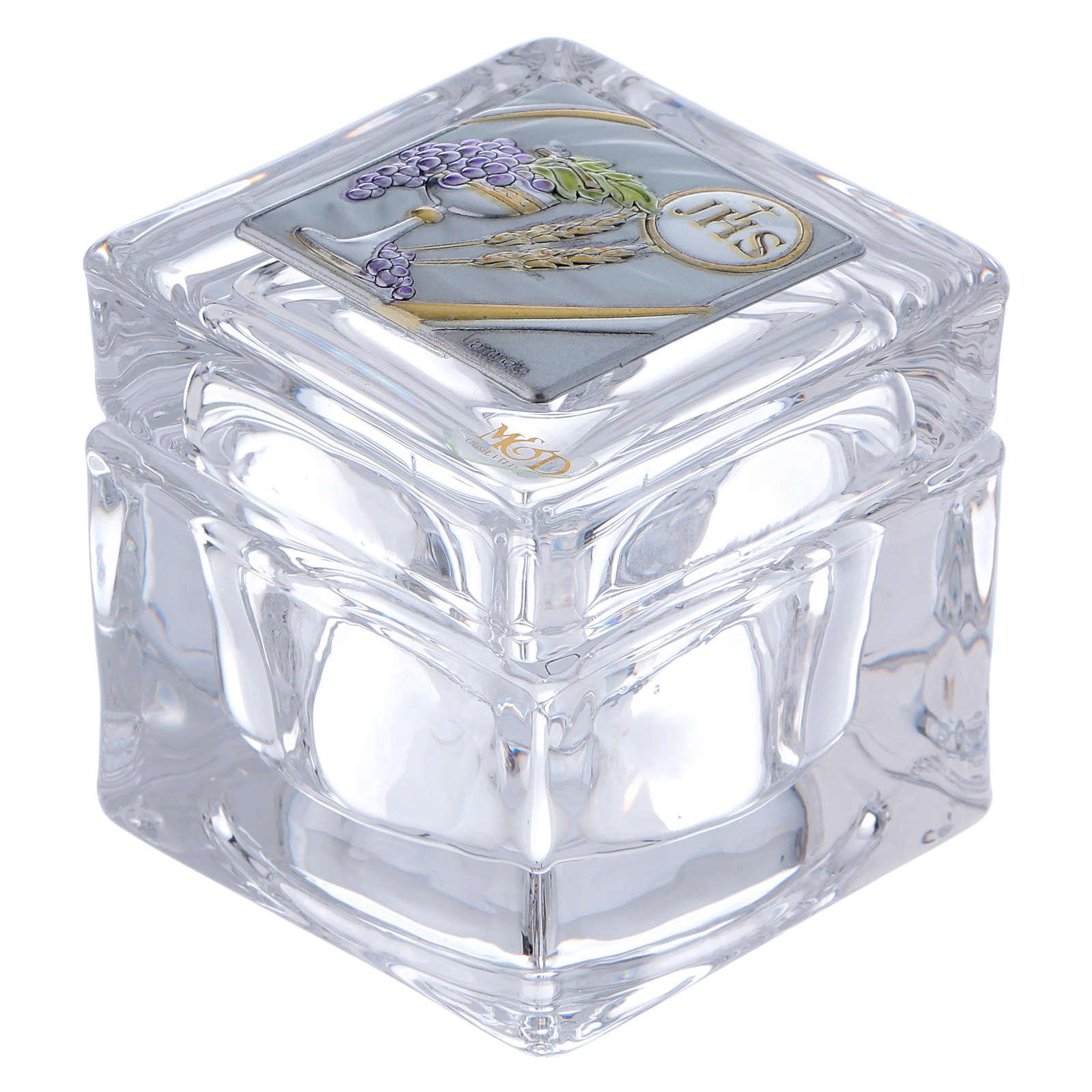 Bombonera Comunión caja 5x5x5 cm 3