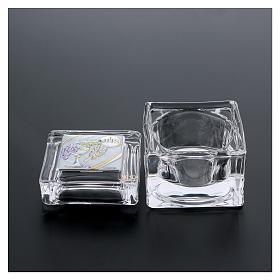 Bonbonnière Communion boîte 5x5x5 cm s3
