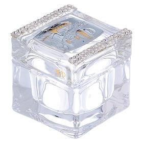Bomboniera Cresima e Comunione scatolina 5x5x5 cm s1