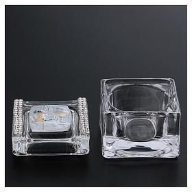 Bomboniera Cresima e Comunione scatolina 5x5x5 cm s3
