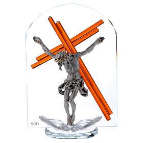 Idea regalo arco con crucifijo 25x15 cm s1