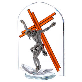 Idea regalo arco con crucifijo 25x15 cm s2