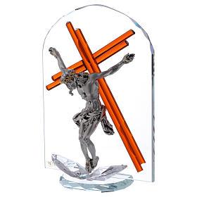 Idée-cadeau arc avec crucifix 25x15 cm s2