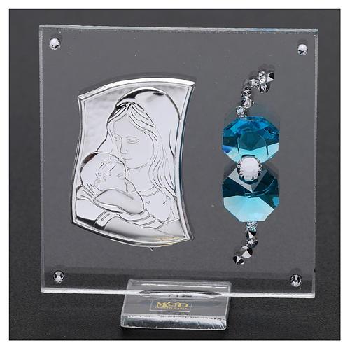 Bonbonnière cadre Maternité 5x5 cm 2