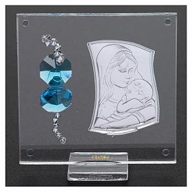 Bomboniera Quadretto Maternità 5x5 cm  s3