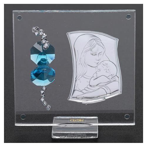 Lembrancinha quadrinho Maternidade 5x5 cm 3