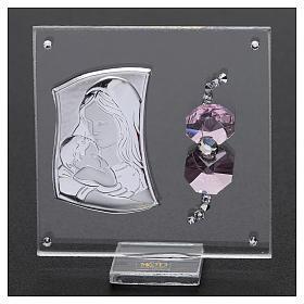 Bombonera sagrada imagen Maternidad 5x5 cm s2