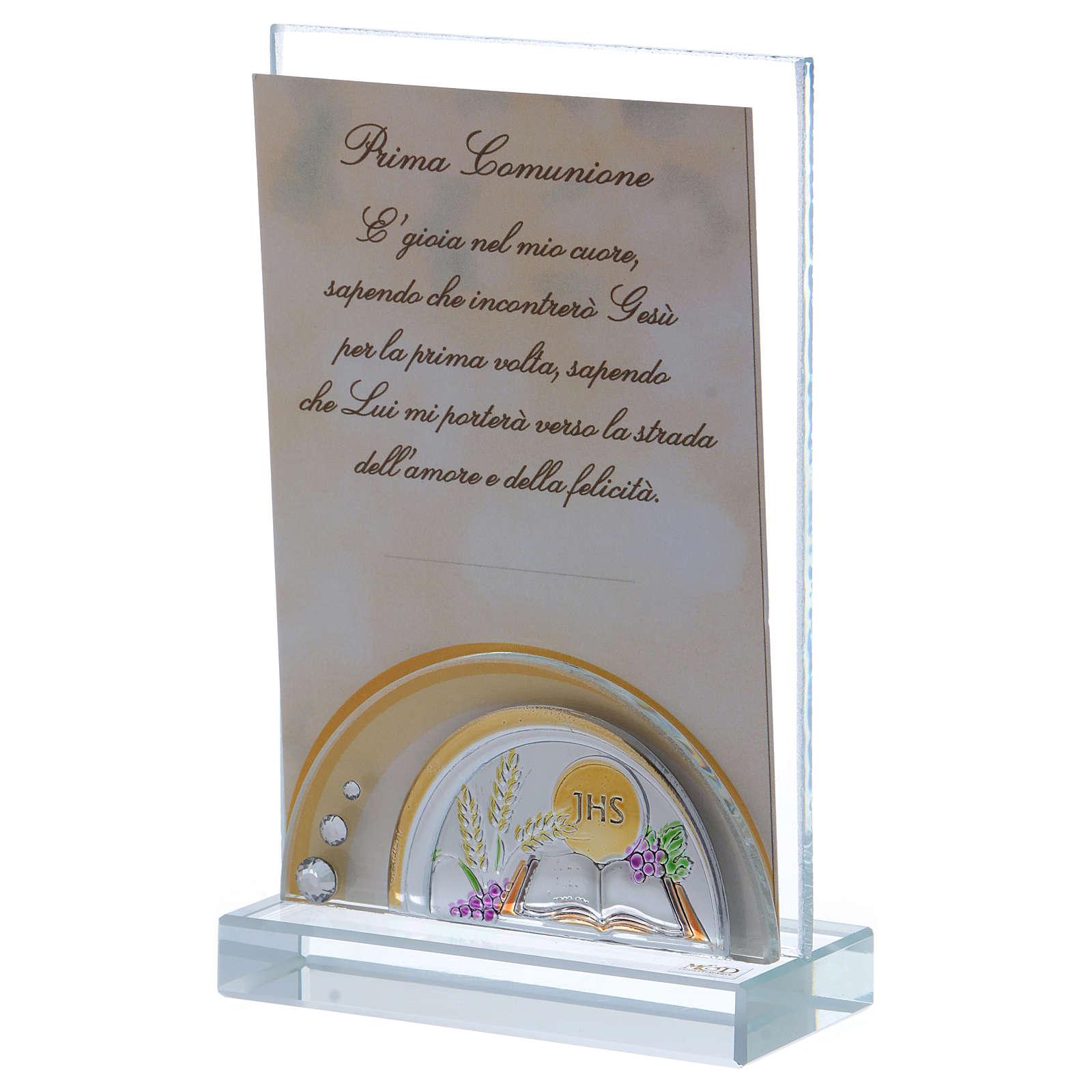 Bomboniera Prima Comunione cornice 15x10 cm 3