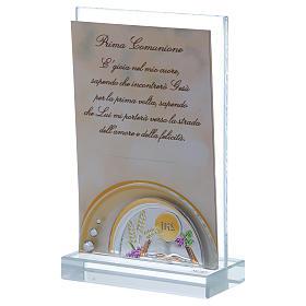 Bomboniera Prima Comunione cornice 15x10 cm s2