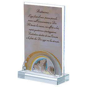 Christening favor picture frame Maternity 6x4 in s2