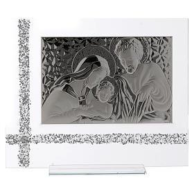 Quadro da appoggio Sacra Famiglia idea regalo 30x35 cm  s1