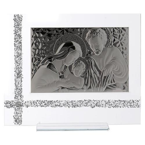 Quadro da appoggio Sacra Famiglia idea regalo 30x35 cm  1
