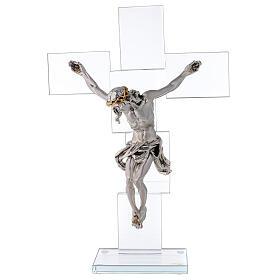 Idea regalo Crocefisso in stile moderno 35x25 cm s1
