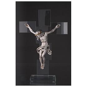 Idea regalo Crocefisso in stile moderno 35x25 cm s2