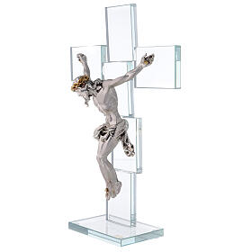 Idea regalo Crocefisso in stile moderno 35x25 cm s3