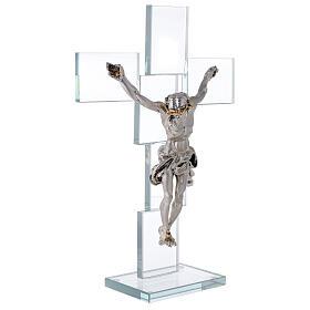 Idea regalo Crocefisso in stile moderno 35x25 cm s4