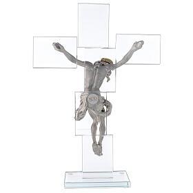 Idea regalo Crocefisso in stile moderno 35x25 cm s5