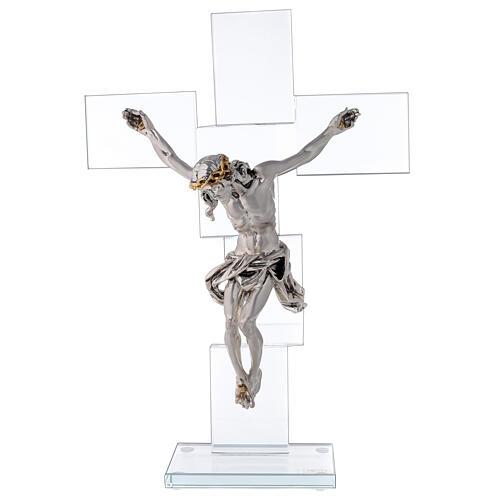 Idea regalo Crocefisso in stile moderno 35x25 cm 1