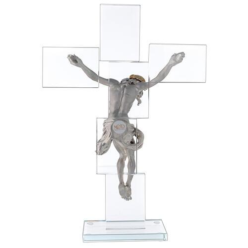 Idea regalo Crocefisso in stile moderno 35x25 cm 5