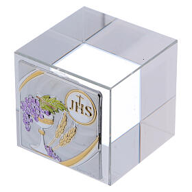 Holy Communion favor cubic paperweight 2x2x2 in s2