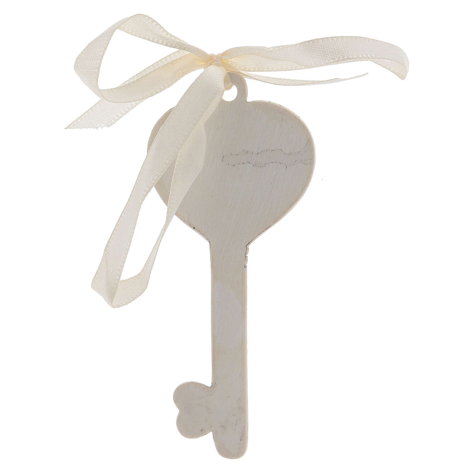 Key-shaped party favour for Confirmation 10x5 cm 3