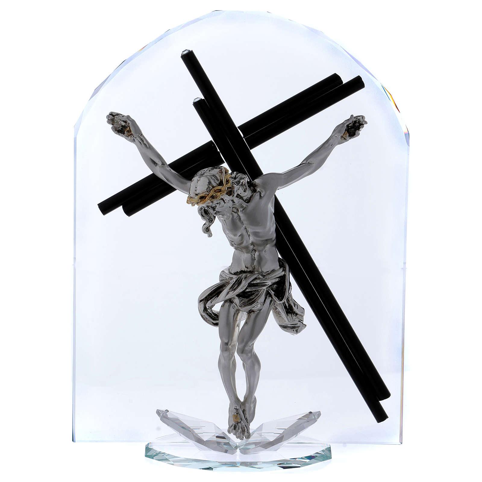 Idea regalo en forma de arco con Crucifijo 30x20 cm 3