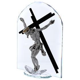 Idea regalo en forma de arco con Crucifijo 30x20 cm s2