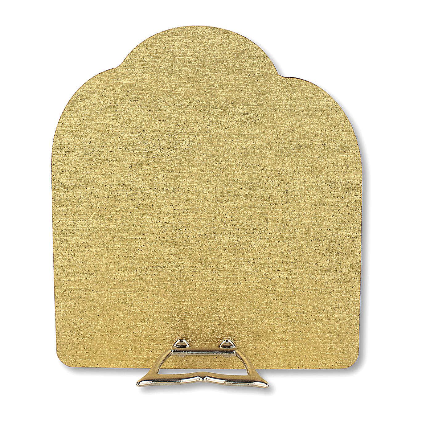 Bonbonnière souvenir Communion Arbre de la vie avec Garçon et Calice 10,5x9,5 cm 3