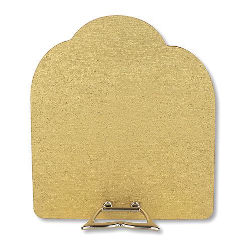 Bonbonnière souvenir Communion Arbre de la vie avec Garçon et Calice 10,5x9,5 cm 2