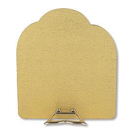 Bonbonnière souvenir Communion Arbre de la vie avec Fille et Calice 10,5x9,5 cm s2