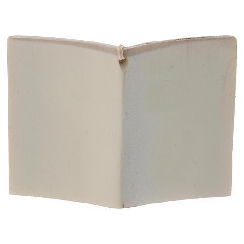 Bonbonnière Sainte Famille livre 7 cm 3