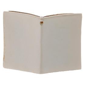 Bimba in preghiera bomboniera 6 cm libro s3