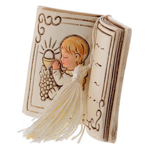 Bimba in preghiera bomboniera 6 cm libro 2