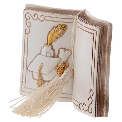 Bombonera diploma y birrete 7 cm libro 2