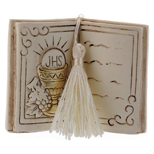 Pamiątka książka 7 cm kielich i winogron 1