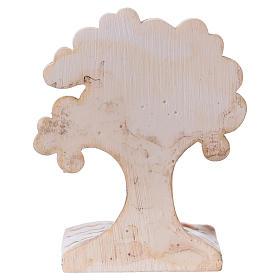 Árbol-libro con niña 7 cm resina s3