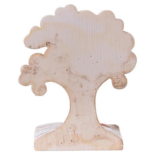 Árbol-libro con niña 7 cm resina 3