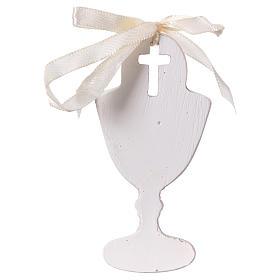 Bomboniera 9 cm calice bimbo in preghiera s2