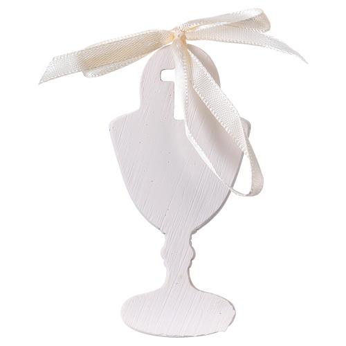 Calice bimba in preghiera bomboniera 9 cm 2
