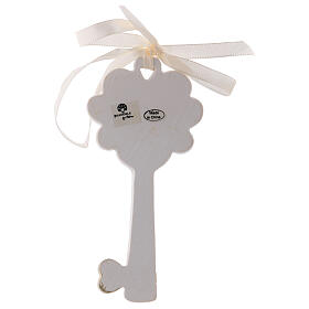 Key shaped favor Holy Family 4 in resin s2